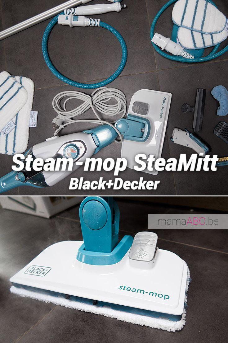 Steam Mop En Steamitt Van Black En Decker Huishouden