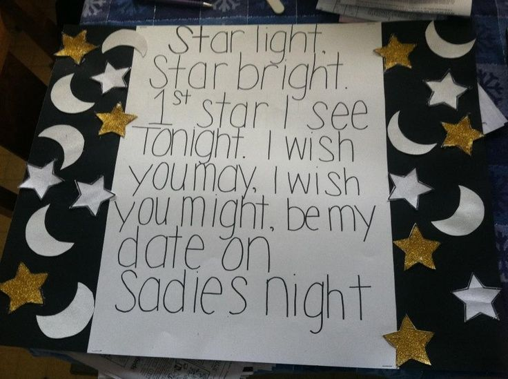 How to ask your boyfriend to sadies