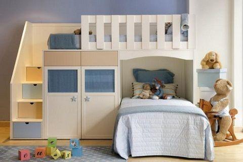 cuidados y medidas de seguridad para dormitorios infantiles con literas o camas altas o camas camarote