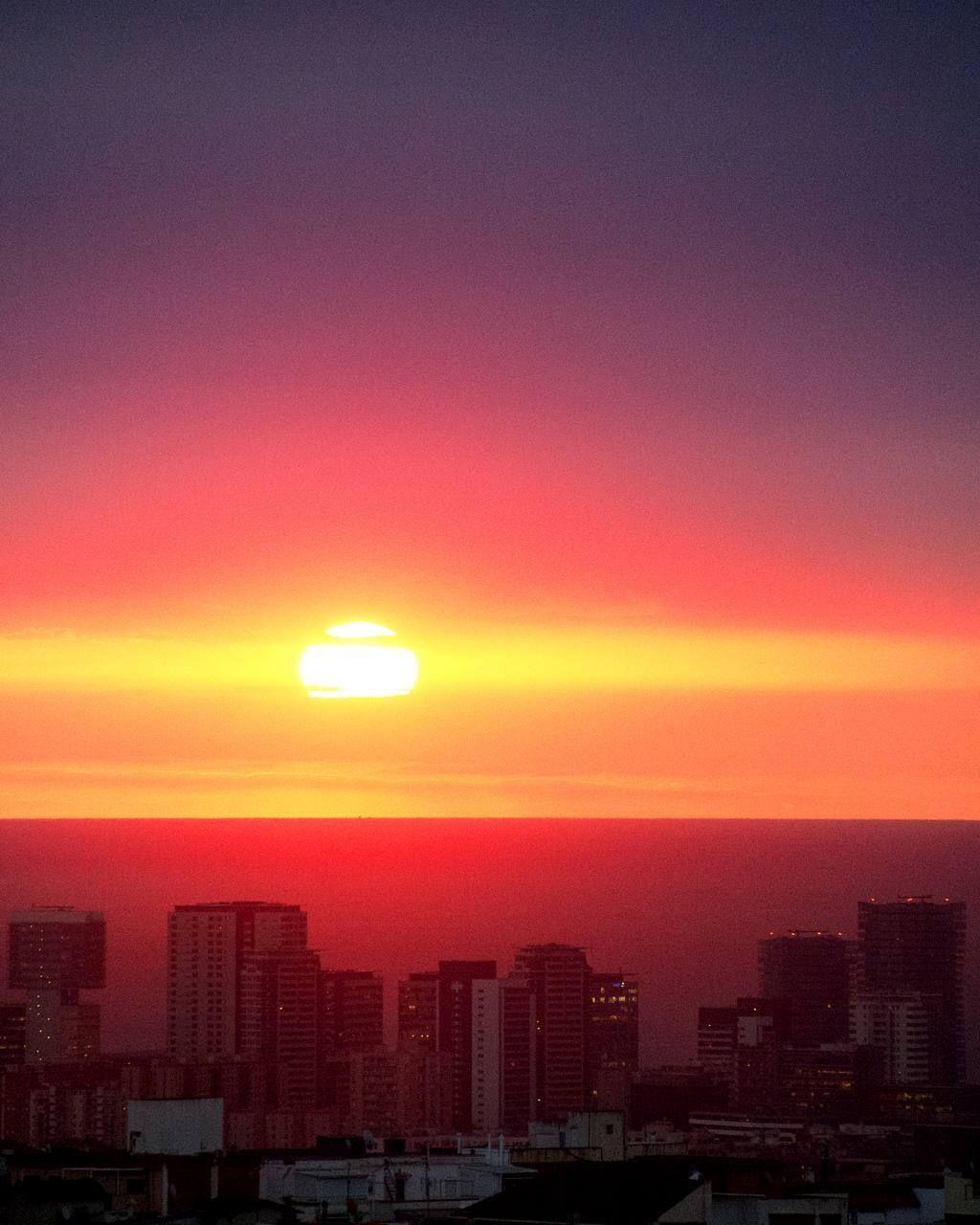 Good morning 2017! #sunrise #desdemiventana