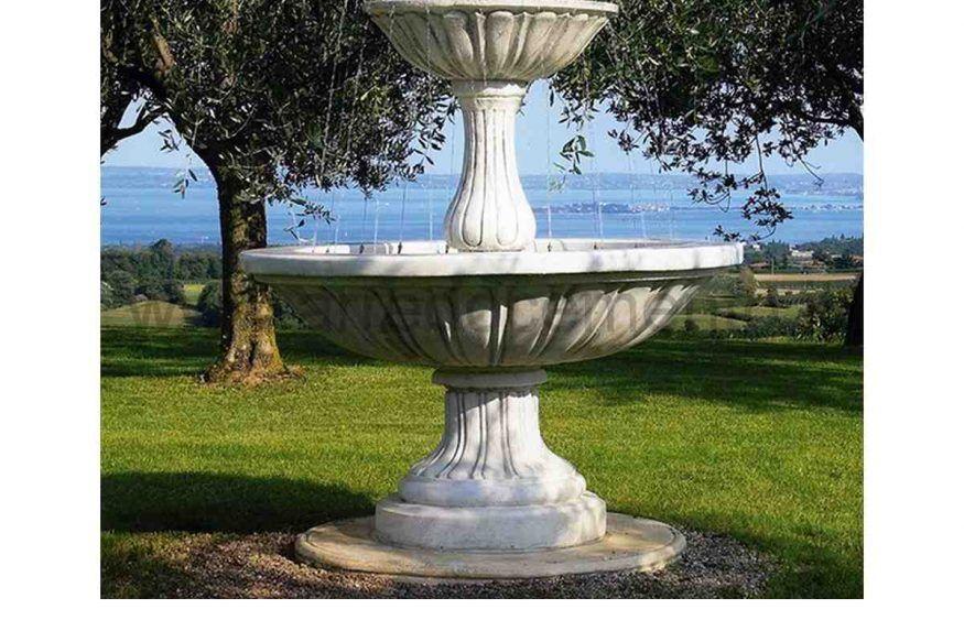 Fontana Da Giardino Agrigento Cm130x130x195h Fontane Da Giardino Giardino Fontane D Acqua Interne
