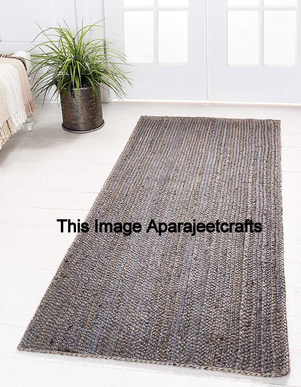 Natural Rugs Floor Decor Rugs Indian Braided Jute Rug Rag Hand