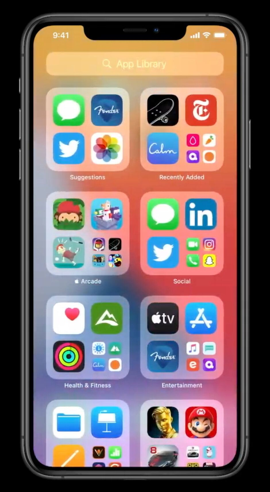 Apple just announced... an app drawer and widgets for iOS