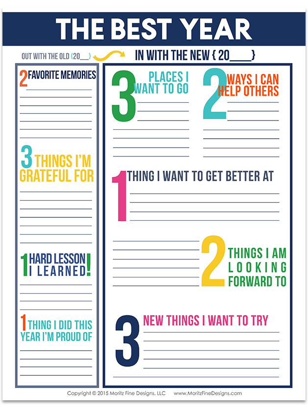 Goal Setting Worksheets for Kids & Adults Goal setting