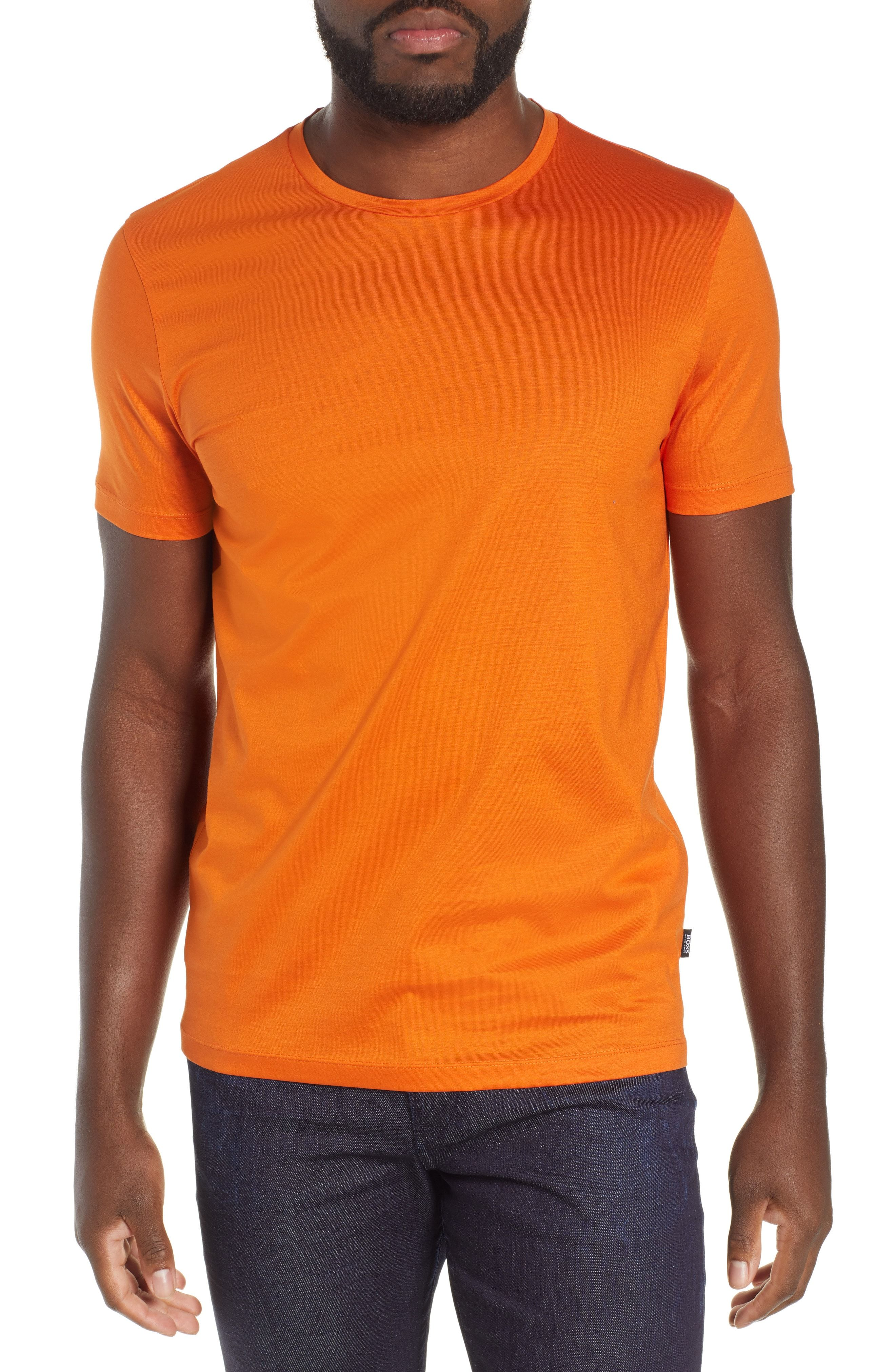 fc22cde4 BOSS TESSLER SLIM FIT T-SHIRT. #boss #cloth | Boss | Slim, Mens tops ...