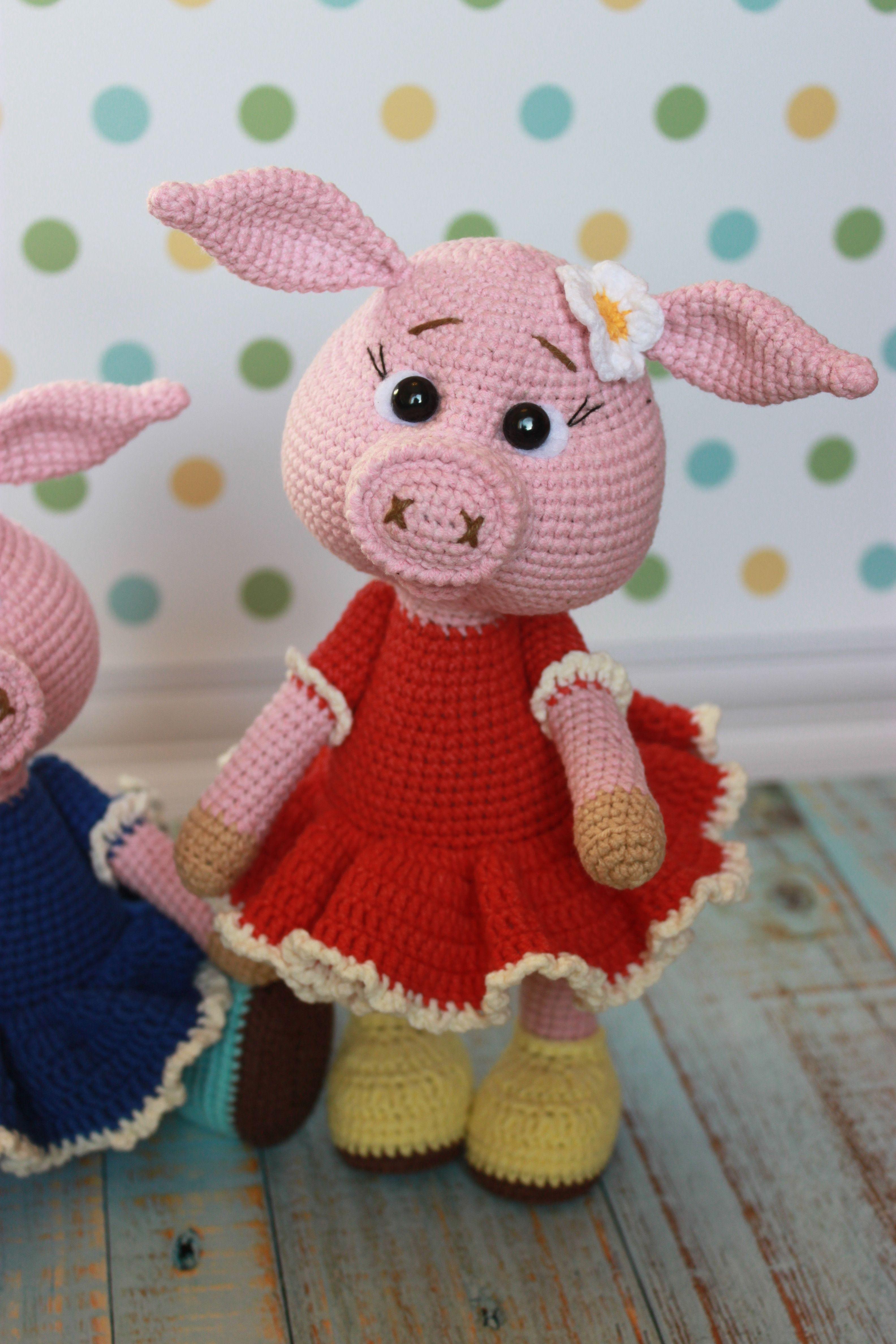 CROCHET PATTERN Amigurumi Pig Crochet Pig Pattern Pig   Etsy   4752x3168