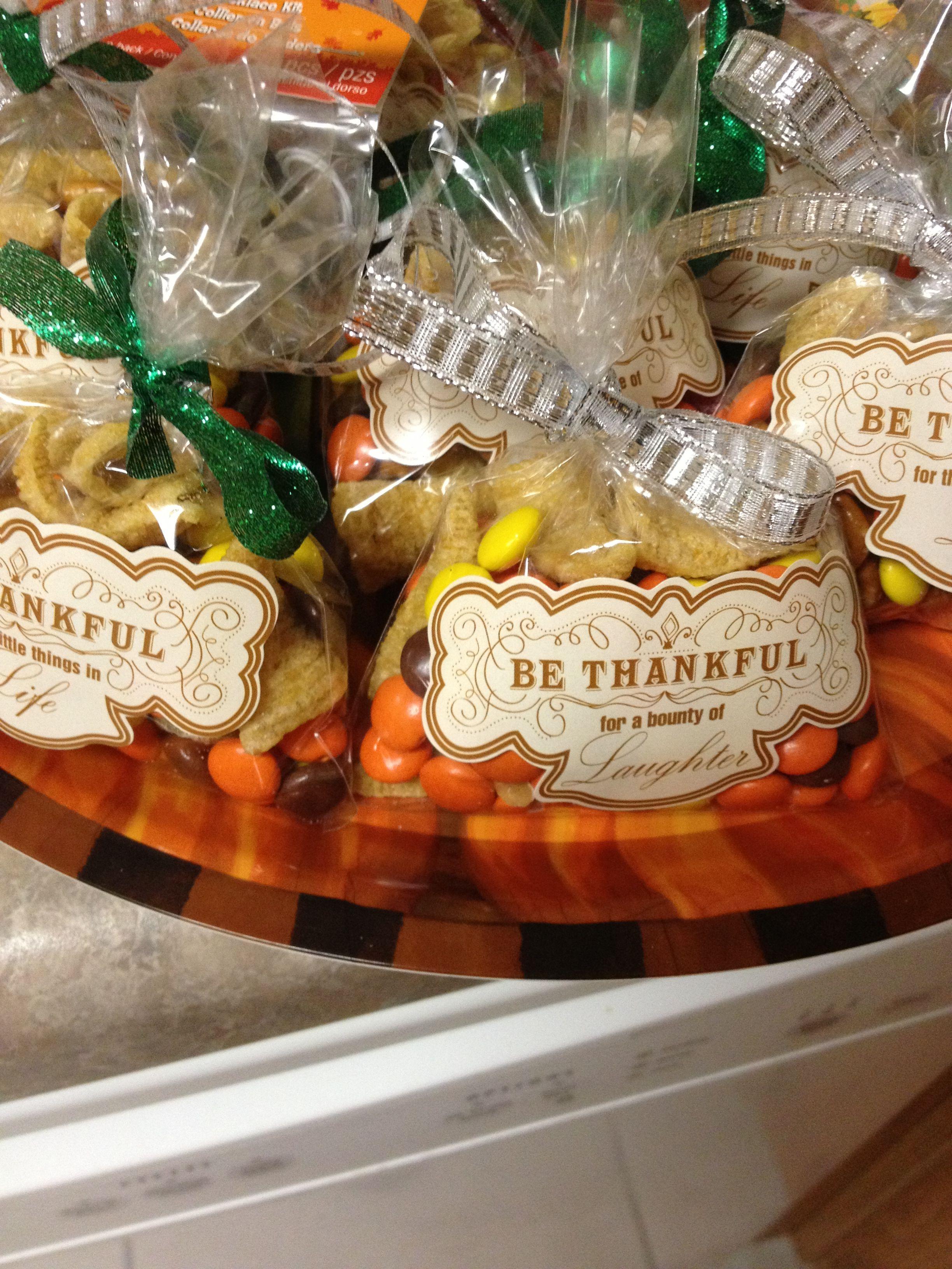 Thanksgiving gift Thanksgiving 20- Thanksgiving favor Thanksgiving treat bag Thanksgiving favor bag 4x6 thanksgiving table decor
