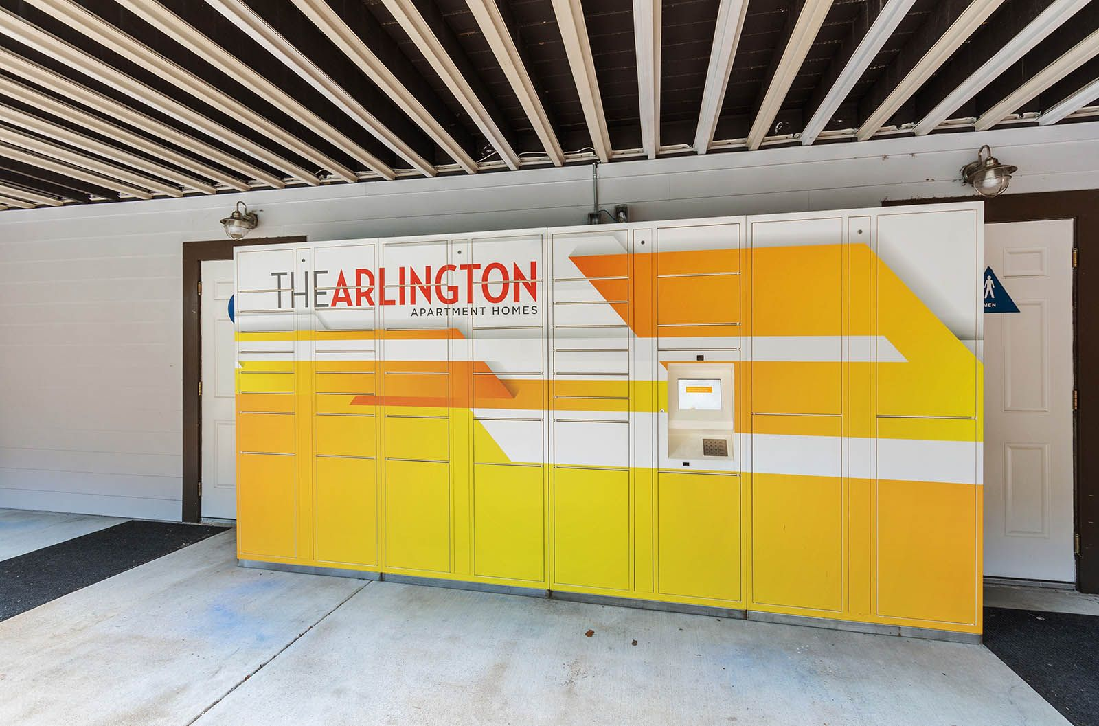 At thearlington our parcel pending package lockers will