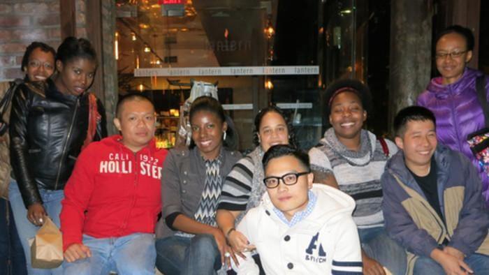 Asian men black women dating community