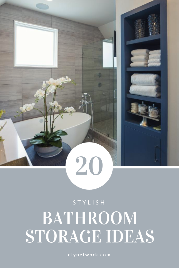 Check Out These Bathroom Storage Ideas