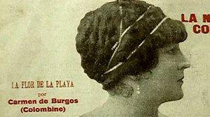 La primera mujer periodista española