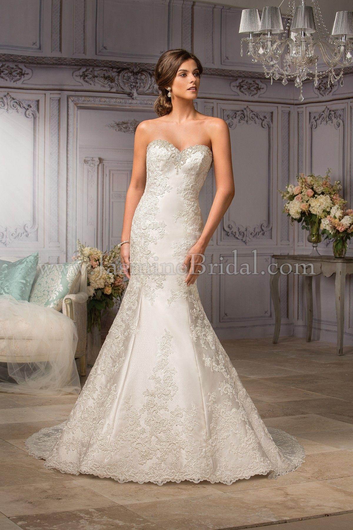 Jasmine bridal couture style t in ivory jasmine bridal