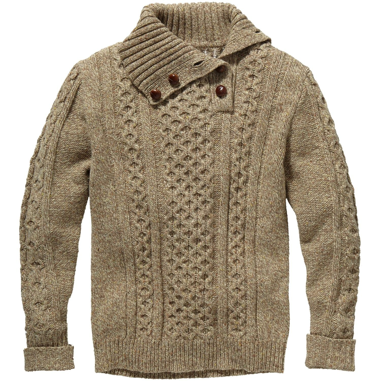 Gant Rugger Granpa 3/2 Roll Sweater. I know, I pin so many sweaters... But I can't help myself!
