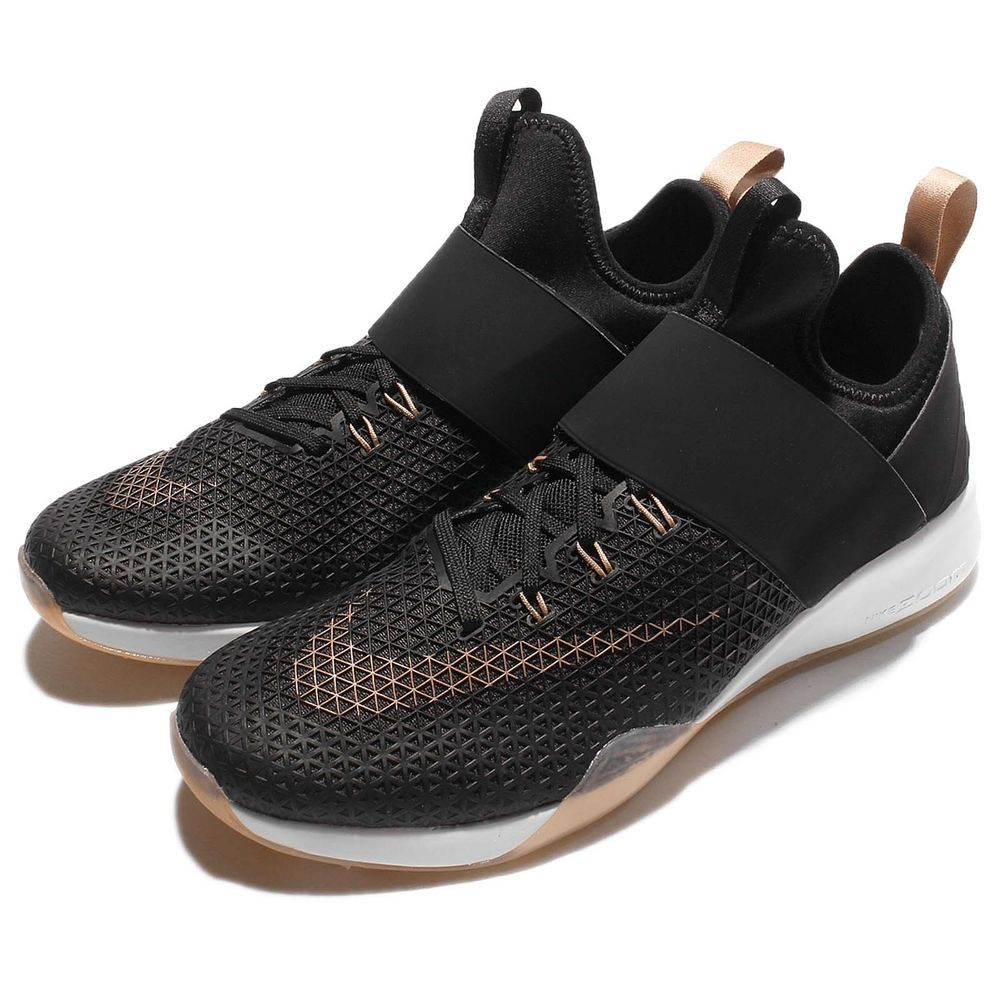 separation shoes 41510 92c61 Wmns Nike Air Zoom Strong Black Bronze Strap Women Training Shoes  843975-003   Clothing, Shoes   Accessories, Women s Shoes, Athletic   eBay!
