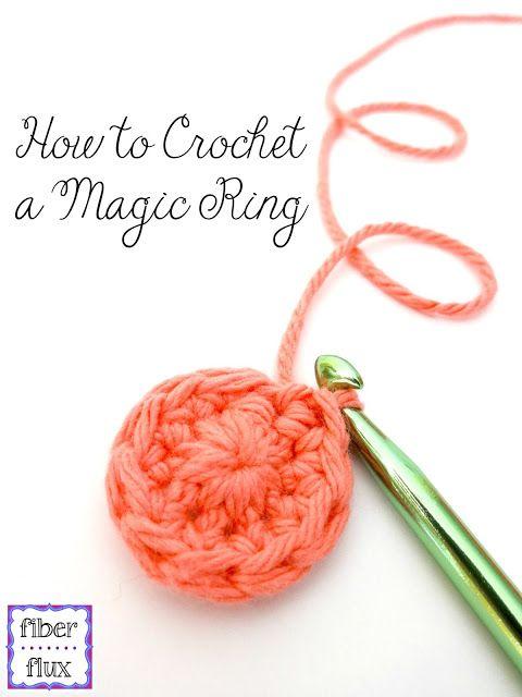 How To Crochet The Magic Ringmagic Circle Photo Video Tutorial