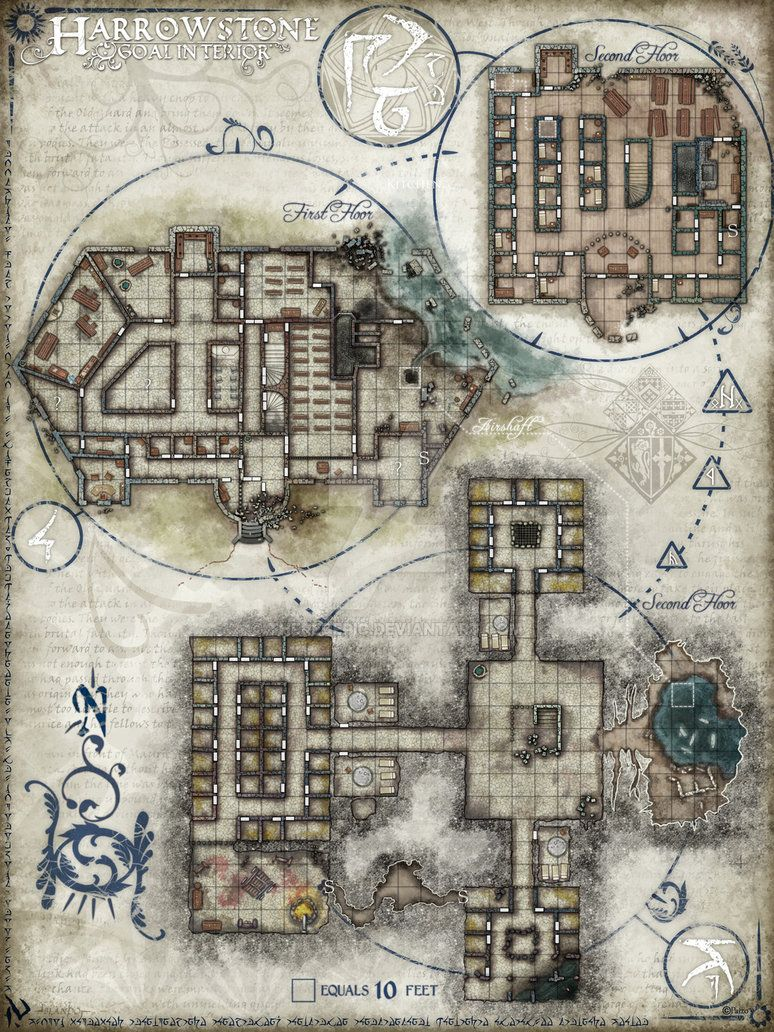Pathfinder #43 Harrowstone Exterior. Copyright Paizo Copyright Pathfinder Digital and Pencils. Comments and print requests welcome. Thanks.