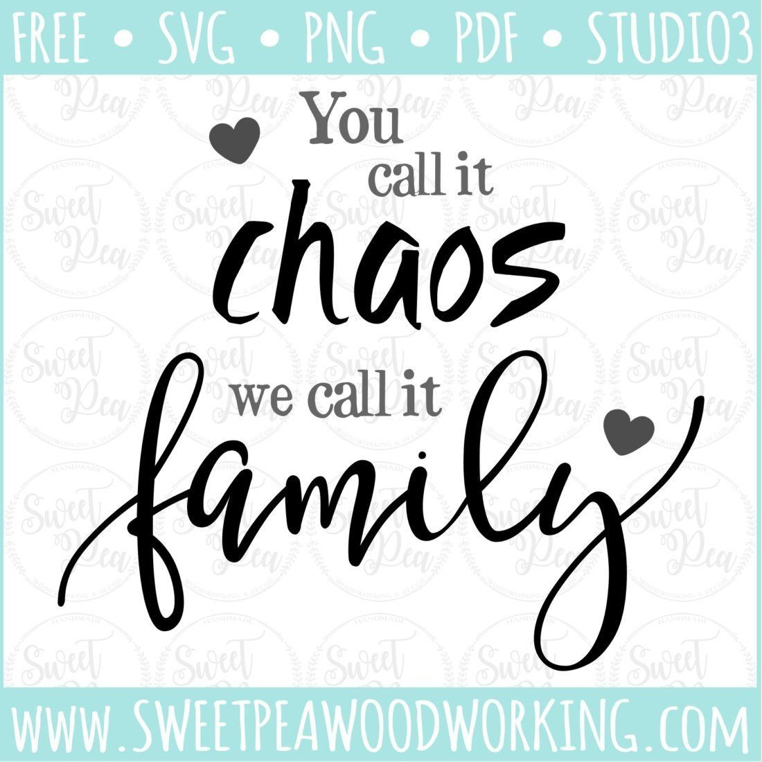 Download Image result for you call it chaos we call it family ...