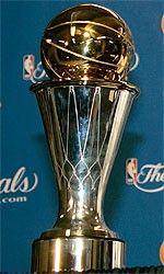 Bill Russell NBA Finals MVP Trophy
