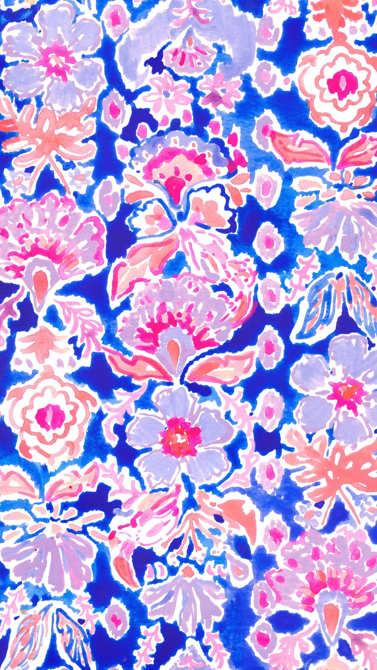Werk It. Lilly pulitzer iphone wallpaper, Spring