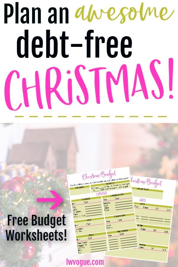 Christmas on a Budget Have a Merry, Debt-Free Christmas Debt