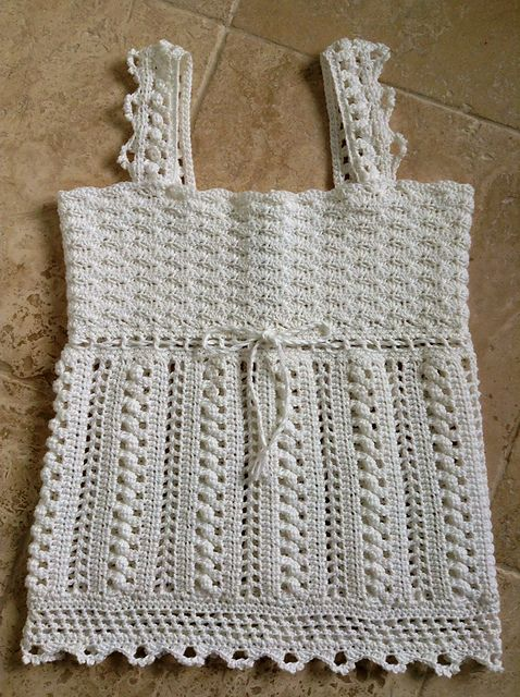 [Free Pattern] This Lacy Crocheted Sleeveless Top Is Gorgeous! - Knit And Crochet Daily