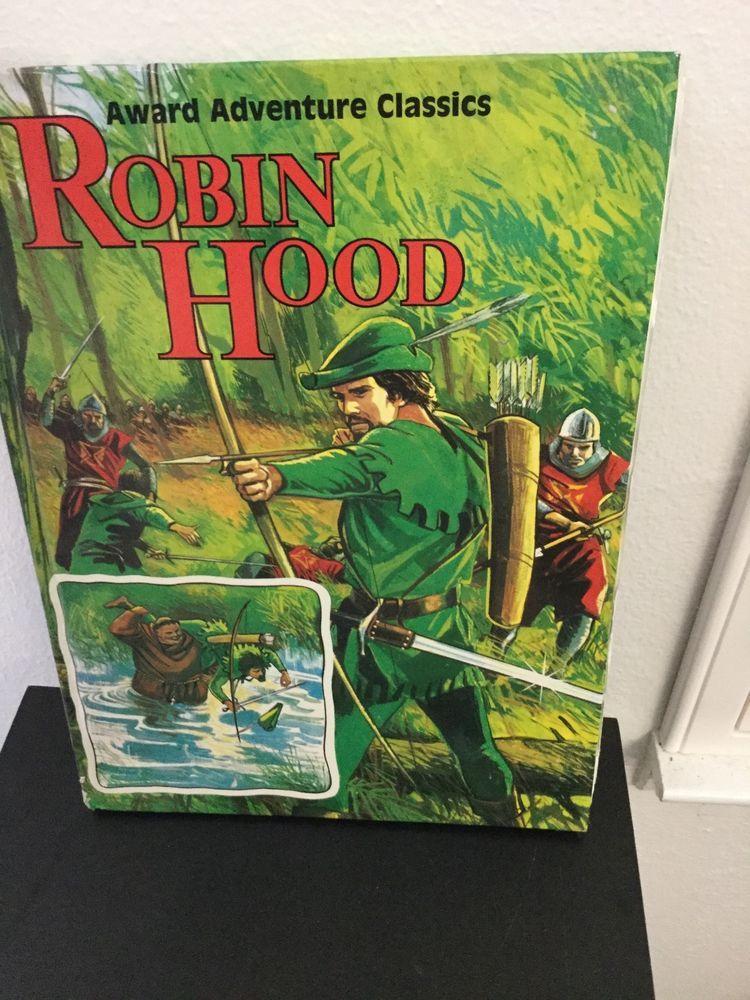 robin hood award adventure classics illustrated hardback