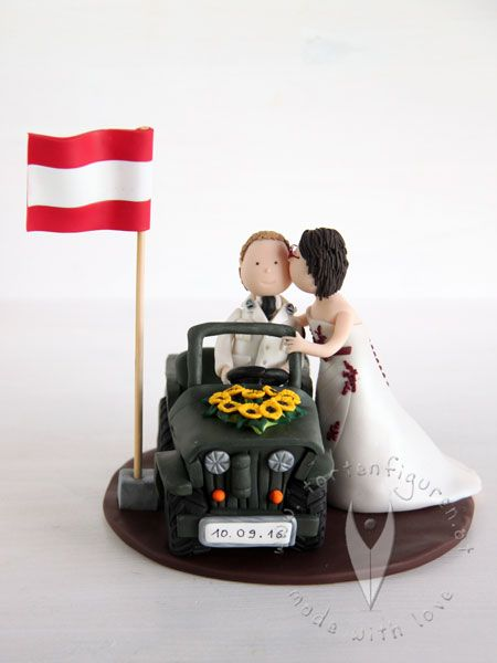 Militar Bundesheer Bundeswehr Brautpaar Tortenfigur Fur Die