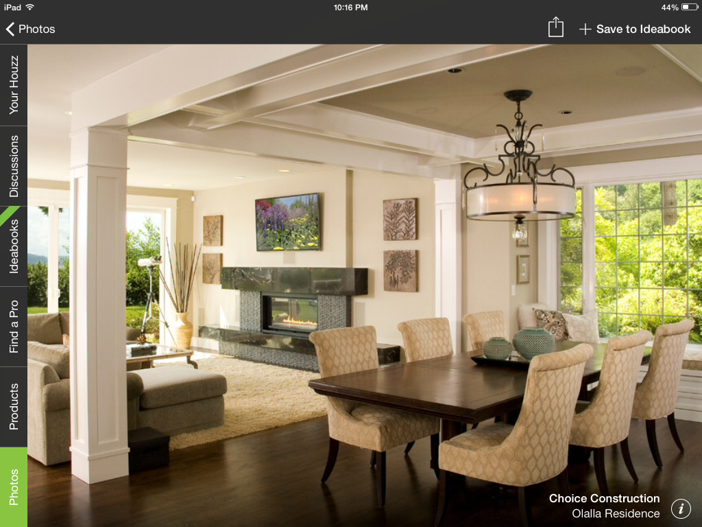 Explore Dining Room Modern And More IF We Need Pillars Here Is A Good Example Of Decent One