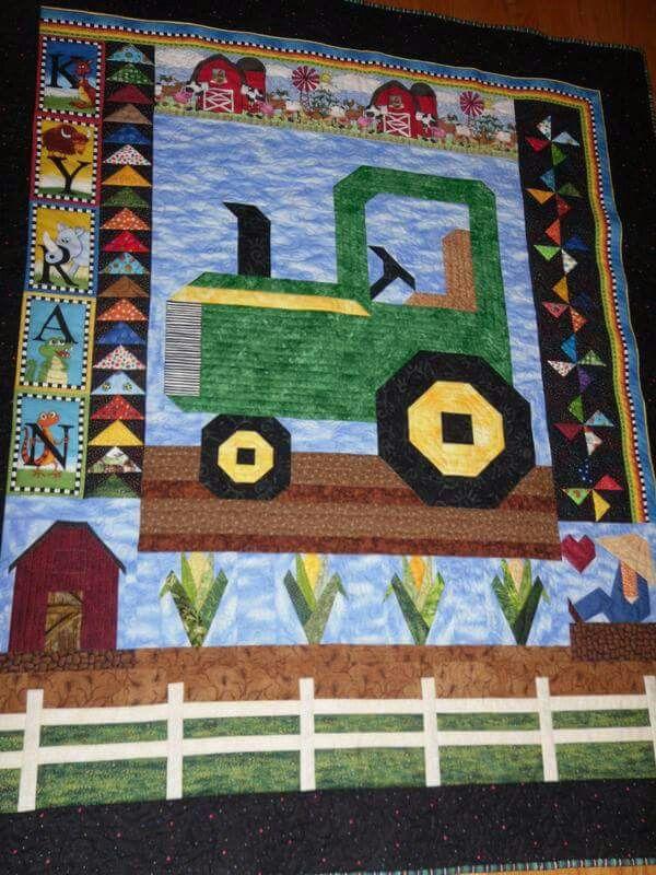 John Deere Quilt And More Baby Noah Pinterest Sewing Ideas