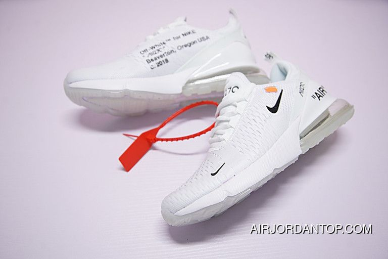 Off White X Nike Air Max 270 White 2018 New Release | Nike