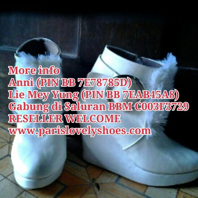 Pin Di Model Sepatu Boot Dari Paris Lovely Shoes