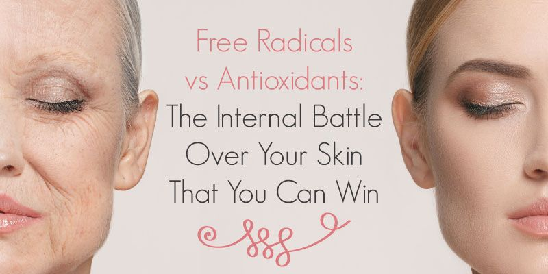 Free Radicals Are Molecules That Cause Oxidation Which Damages Cells And Prematurely Ages Your Skin Help Fight Free Rad Dna Repair Love Your Skin Skin Health