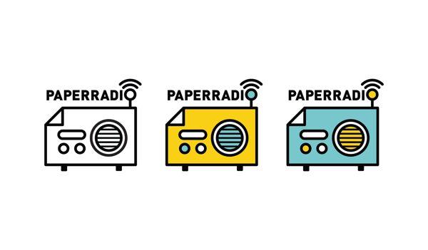 paperradio by binna cho, via Behance