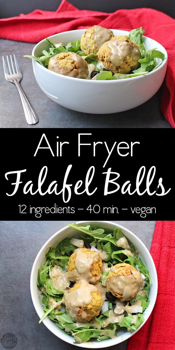 Air Fryer Falafel Balls