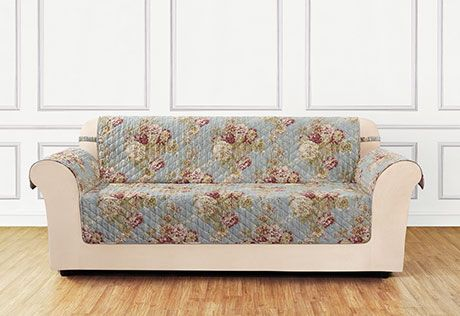 Super Ballad Bouquet By Waverly One Piece Loveseat Slipcover Caraccident5 Cool Chair Designs And Ideas Caraccident5Info