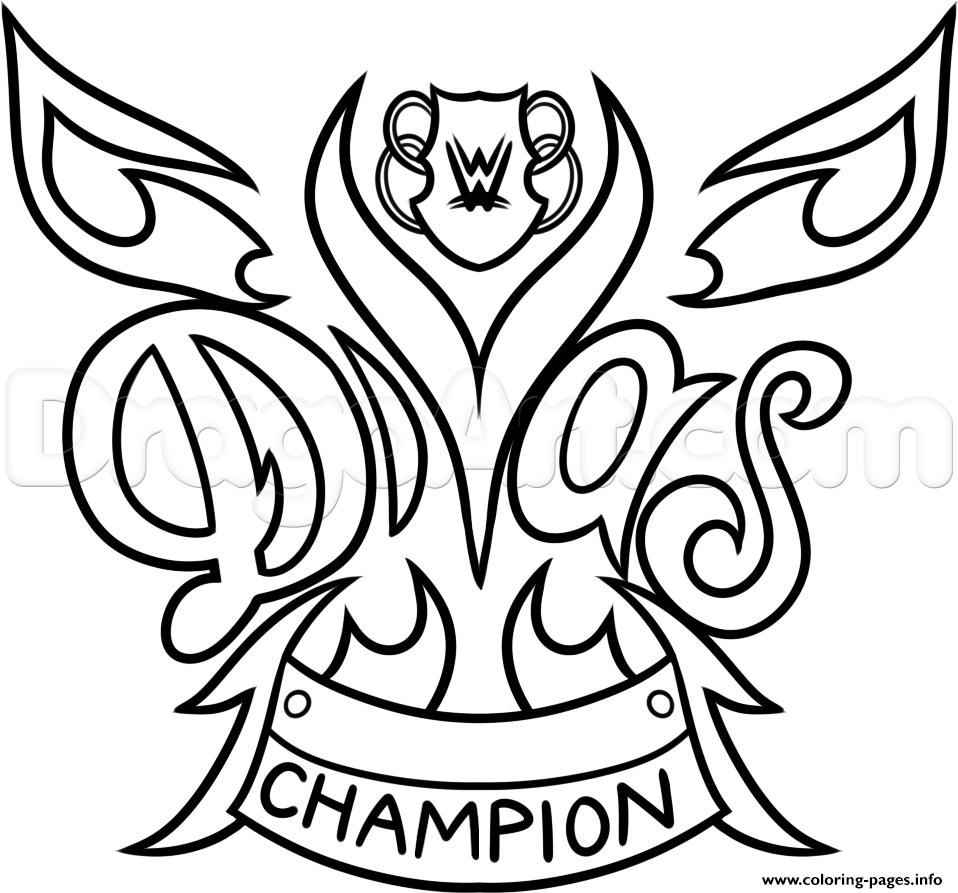 Wwe Divas Invites Wwe Diva Championship Belt Nikki Bella Wrestling Coloring Wwe Coloring Pages Wwe Divas Championship Wwe Divas Championship Belt