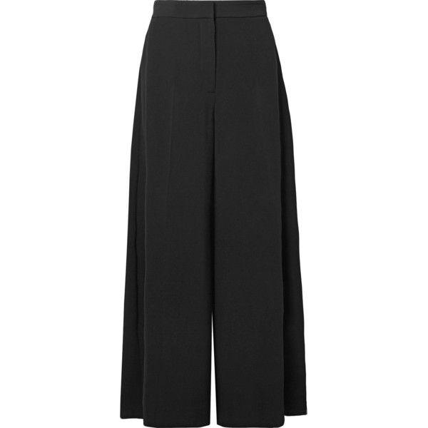 Pantalon De Crêpe Noir Darci - Stella Mccartney VEGFf7p
