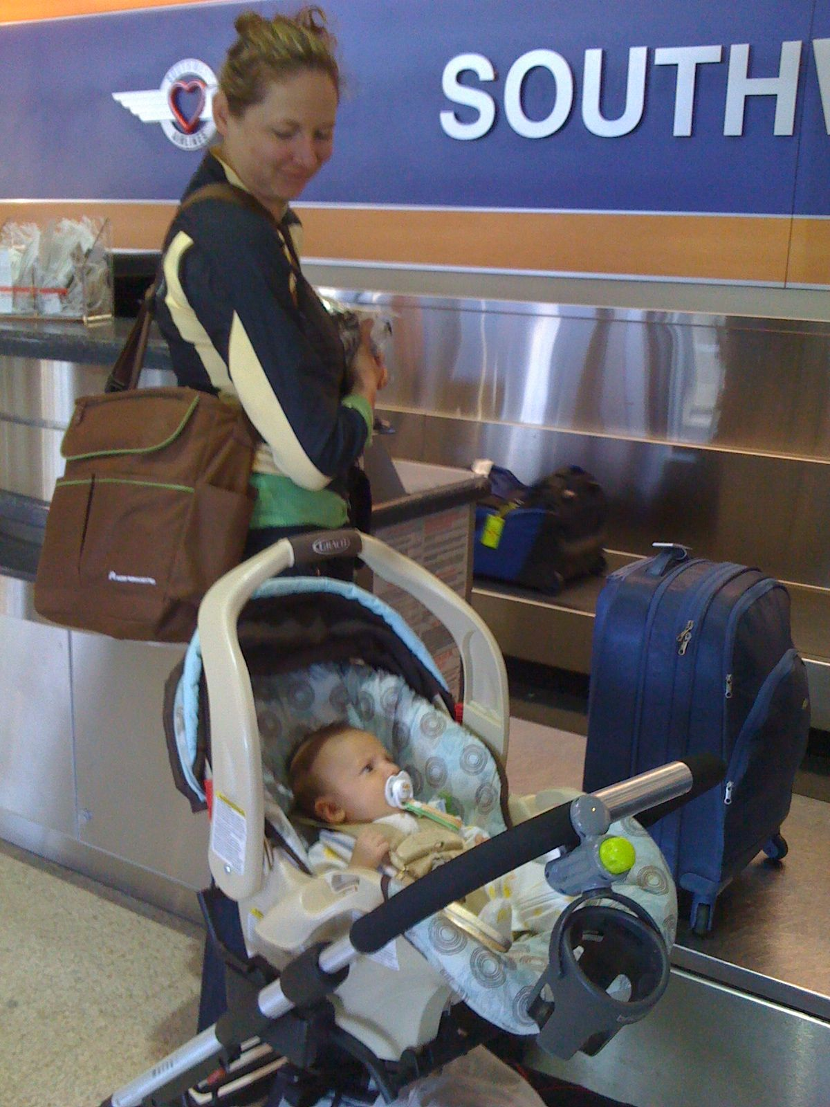 Flying with Baby: Two to Eight Months Old | All Moms Are ...