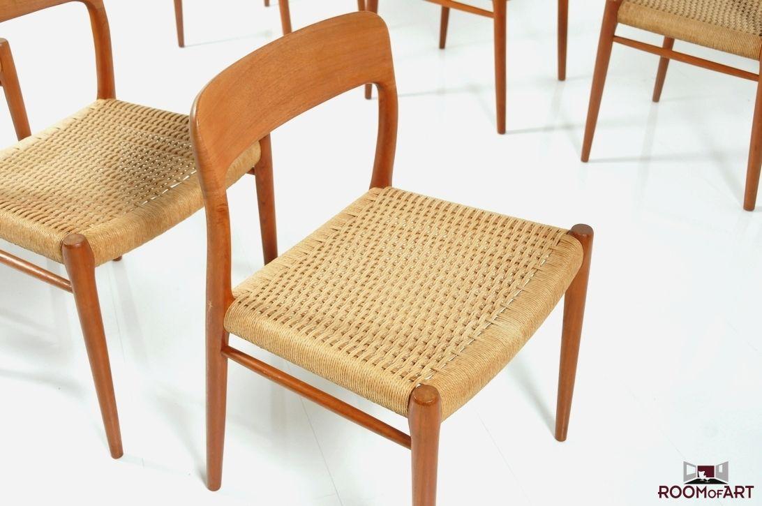 Niels Otto Moller Model 75 Dinner Chair Teak