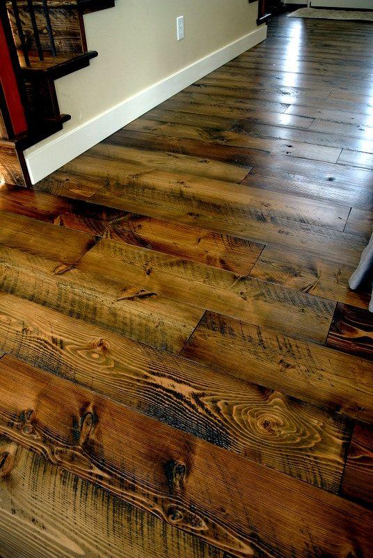 Sustainable Lumber Co Skip Planed Circle Sawn Flooring