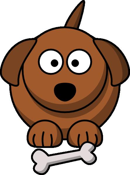 cartoon dog clip art vector clip art online royalty free public rh pinterest com Christmas Labradoodle Puppy Christmas Tree Clip Art