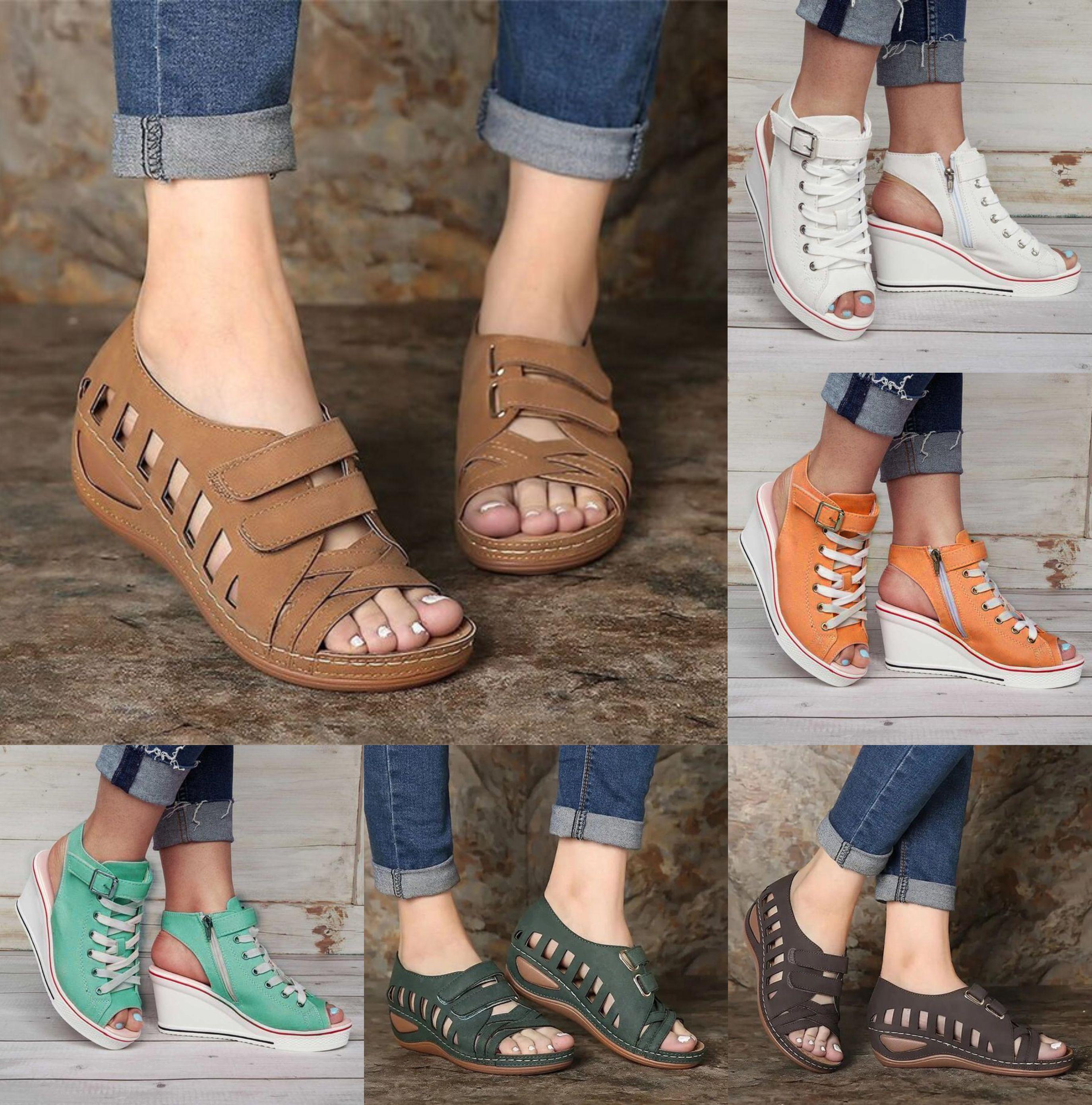 Women's Non-Slip Wedge Sandals nel 2020