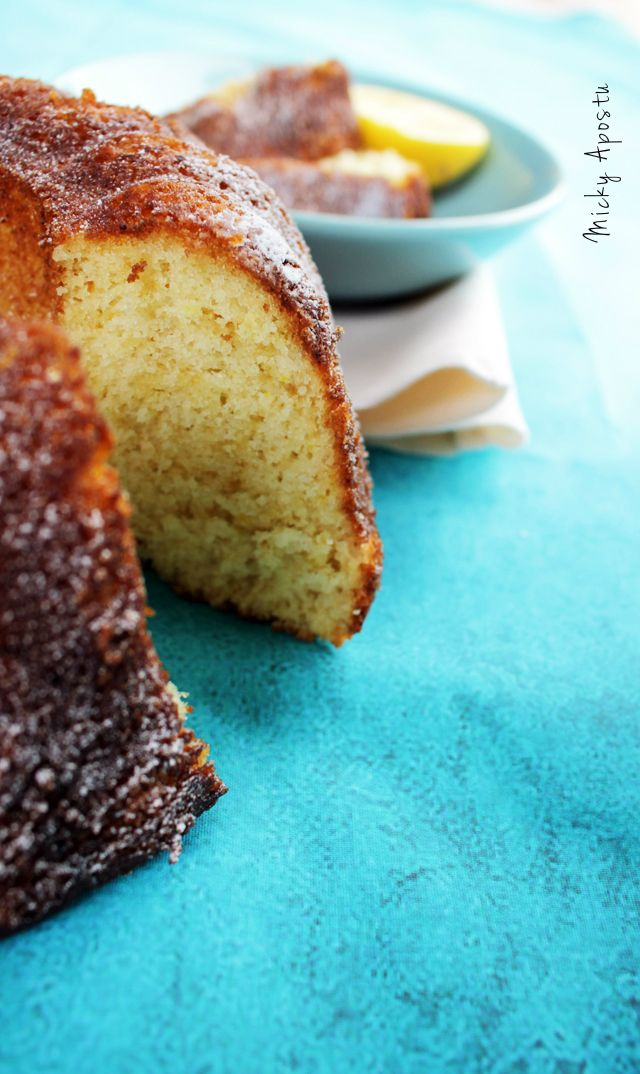 """12 tablespoons"" lemon bundt cake"