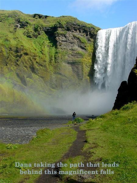 Skogafoss ... Forest Falls Iceland