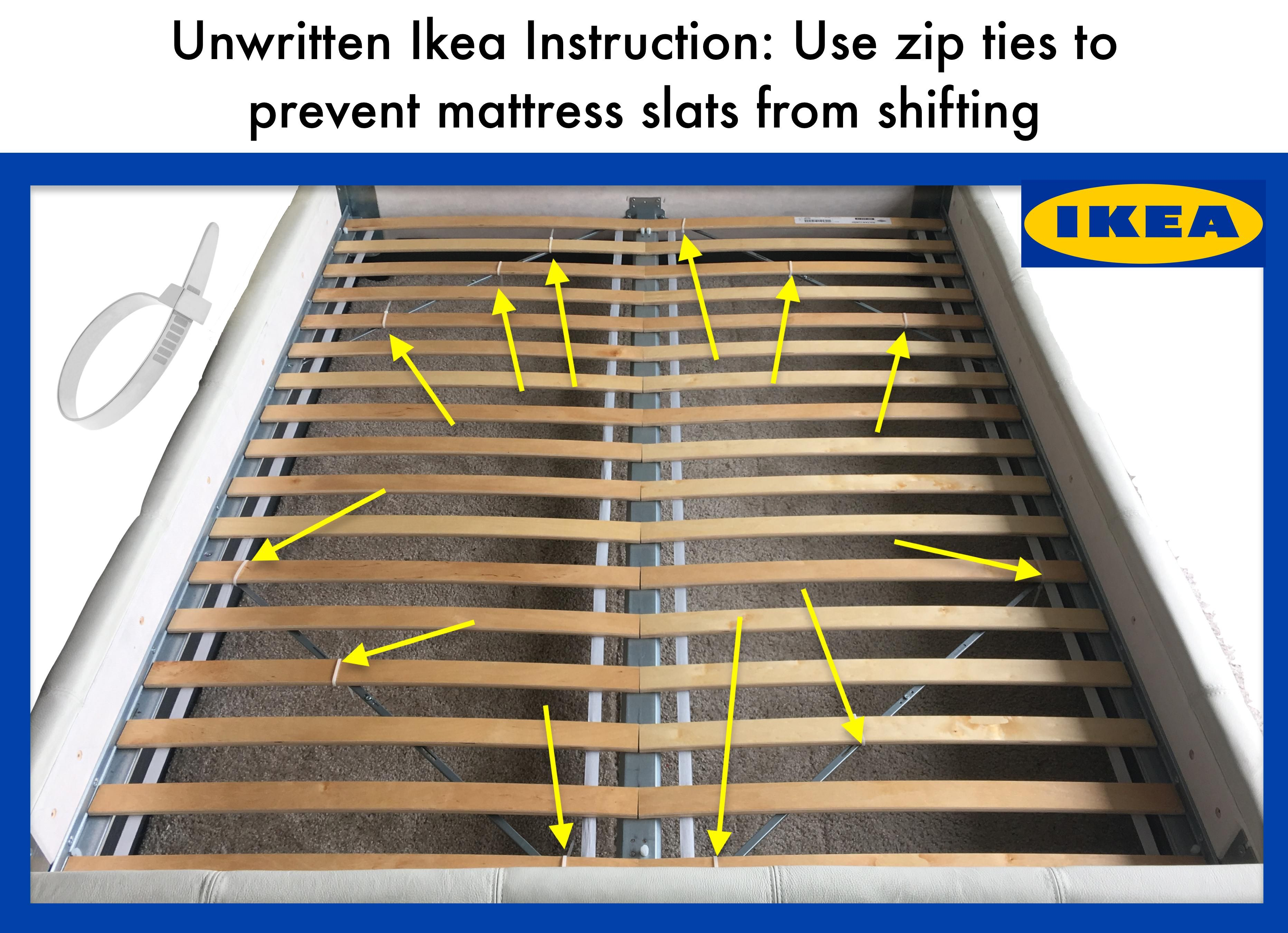 I Wish I Knew About This Years Ago Oc Ikea Bed Slats Ikea Bed