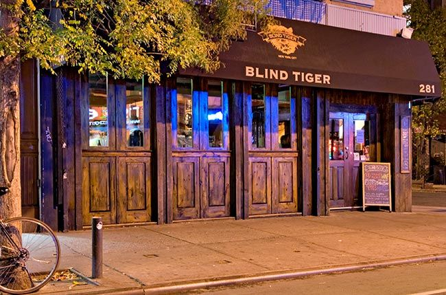 Image result for BLIND TIGER NYC