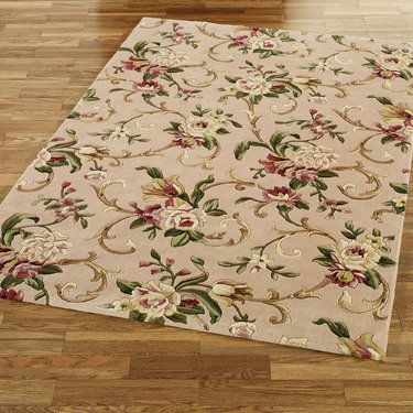 Sofia Floral Area Rugs And Round Rugs Touch Of Class Com
