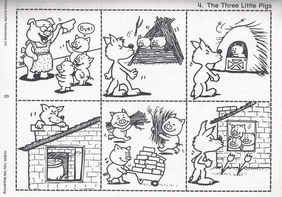 Les 3 petits cochons | Séquence | dbsenk.wordpress.com