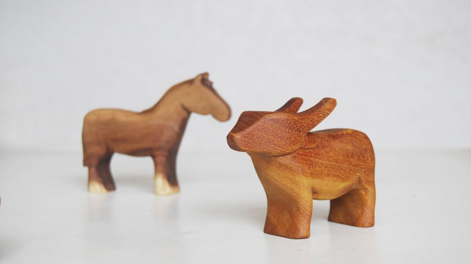The Pink Doormat Hand Carved Animal Toys By Abraham Acala II
