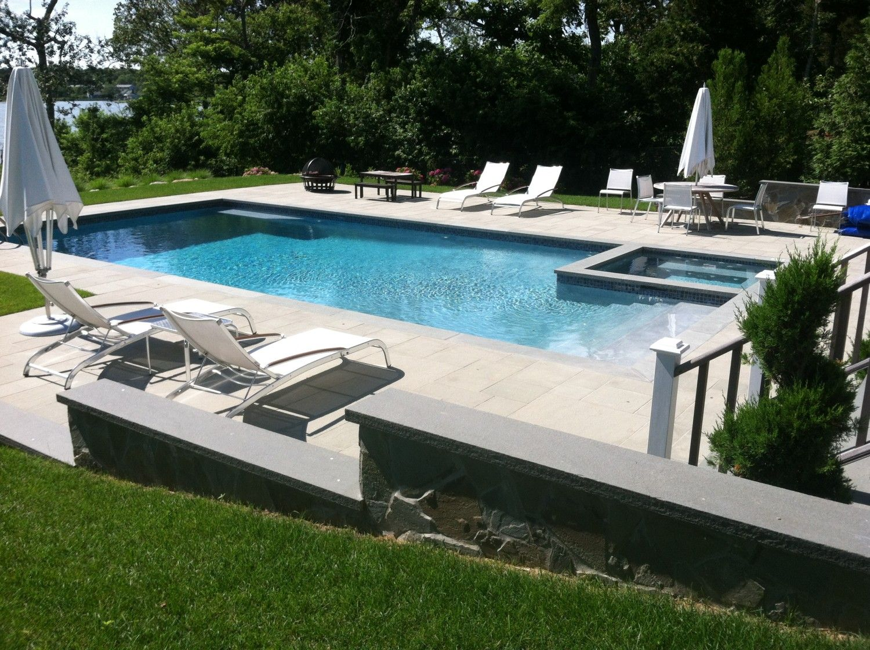 Southampton Magazine shot Patricks Pools custom gunite swimming pool ...